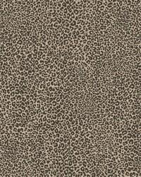Leopard King Wallpaper Brown by