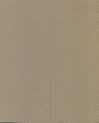 Palm Chevron Wallpaper Taupe Gold by