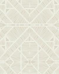 Diamond Macrame Wallpaper Beige by