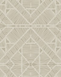 Diamond Macrame Wallpaper Taupe by