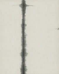 Batik Stripe Wallpaper Blacks by