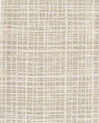 Washy Plaid Wallpaper White Off Whites by