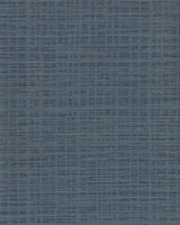Washy Plaid Wallpaper Blues by