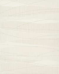 New Waves Wallpaper White Off Whites by