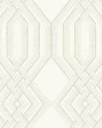 Ettched Lattice Wallpaper Glint by