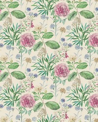 Midsummer Floral Wallpaper Pink by
