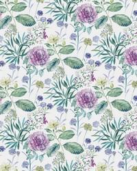 Midsummer Floral Wallpaper Violet by