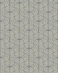Fern Tile Wallpaper Green Tan by