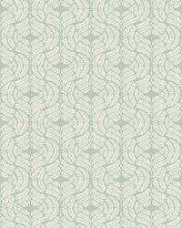 Fern Tile Wallpaper Green by