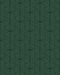 Fern Tile Wallpaper Dark green by