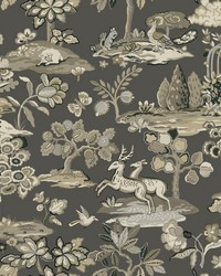 Kingswood Wallpaper Gray by