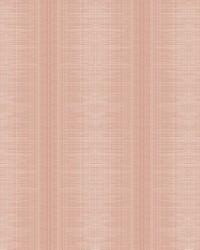 Silk Weave Stripe Wallpaper Coral by