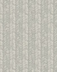 Fractured Herrigbone Wallpaper Gray by