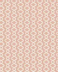 Canyon Weave Wallpaper Coral by