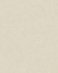 Diamond Channel Wallpaper Beige by