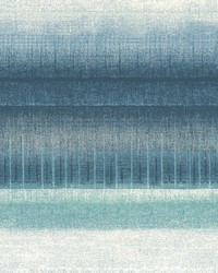 Mesa Stripe Wallpaper Blues by