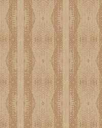 Navajo Stripe Wallpaper Reds by
