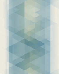 Prism Stripe Wallpaper Blues by