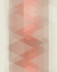 Prism Stripe Wallpaper Oranges by