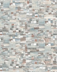 Mixed Media Wallpaper Copper by
