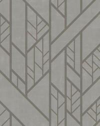 Industrial Grid Wallpaper Dark Grey by