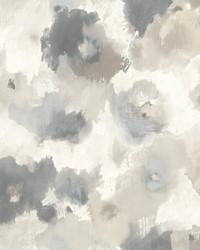 Impressionist Floral Wallpaper Beige by