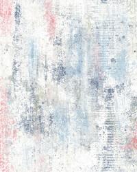Graffiti Melt Wallpaper Blue by