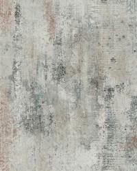 Graffiti Melt Wallpaper Grey by