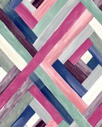 Wynwood Geometric Wallpaper Pink by