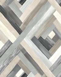 Wynwood Geometric Wallpaper Grey by
