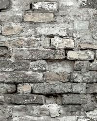 Brick Alley Wallpaper Grey by