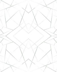 Geo Diamond Wallpaper Green by