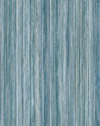 Painted Stripe Wallpaper Dark Blue by