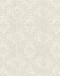 Tribe Wallpaper Cream by