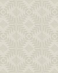 Tribe Wallpaper Beige by
