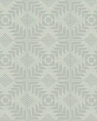 Tribe Wallpaper Silver by