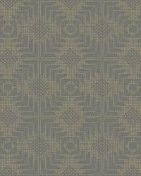 Tribe Wallpaper Dark Grey by