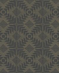 Tribe Wallpaper Black by