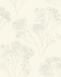 Boho Bouquet Wallpaper Cream by