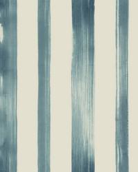 Artisans Brush Wallpaper Blue by