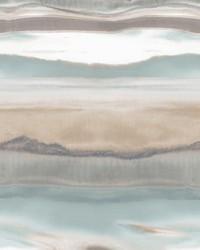 Horizon Wallpaper Light Blue by