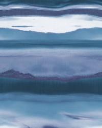 Horizon Wallpaper Dark Blue by