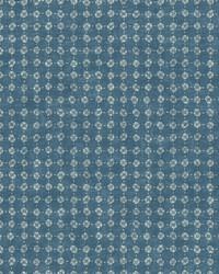 Petal Filigree Wallpaper  Blues by