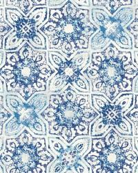 Fatima Tiles Wallpaper  Blues by