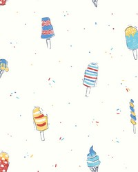 Ice Cream Wallpaper Blues by