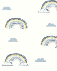 Chasing Rainbows Wallpaper Blues by