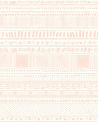 Tribal Print Wallpaper Pinks by