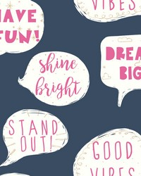 Stand Out Wallpaper Blues by