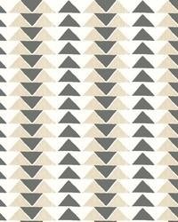 Geo Triangles Wallpaper Blacks by