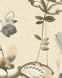 Whimsical Garden 15 Neutral Wallpaper by